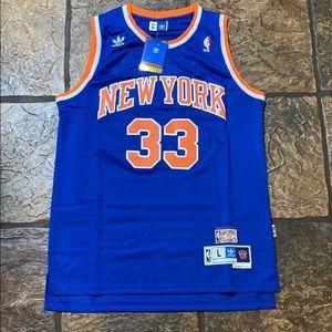 Patrick Ewing - New York Knicks Throwback Jersey